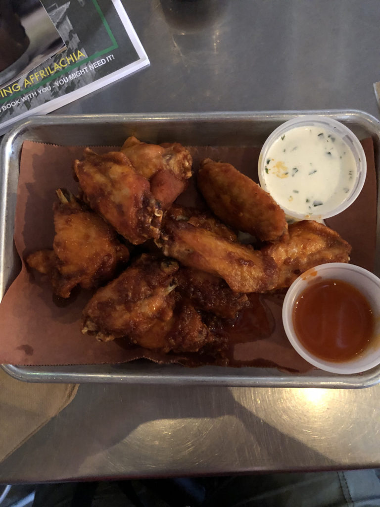 Chicken Wings at Burial